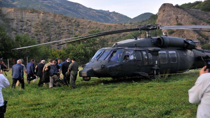 CHP lideri Ardanuç mitingine helikopterle gitti.