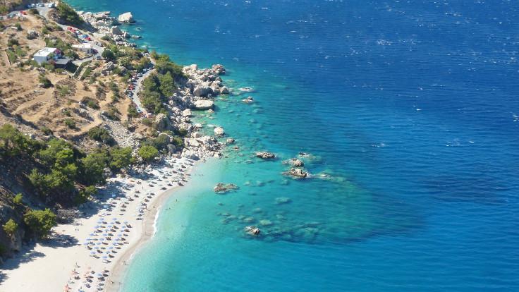 Karpathos Adası'ndaki Apella Plajı. Fotoğraf: Kostas Limitsios / Flickr