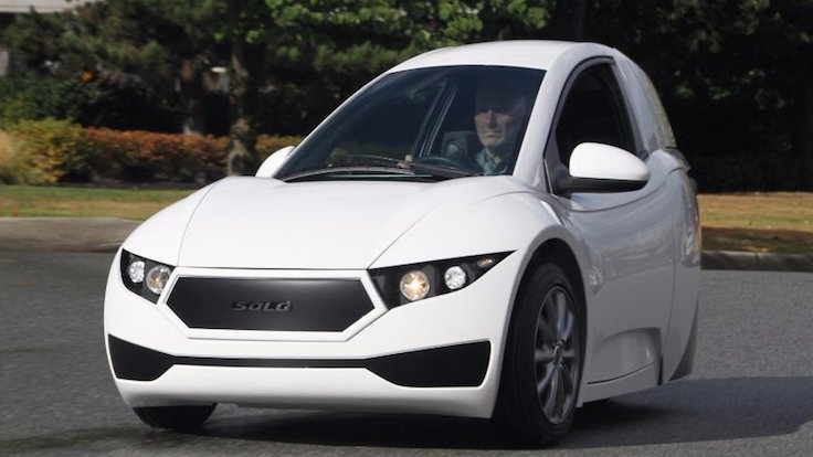 Tek kişilik elektrikli otomobil satışta
