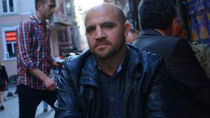 Silivri'de tutuklu bulunan Özgür Gündem Yazı İşleri Müdürü İnan Kızılkaya.