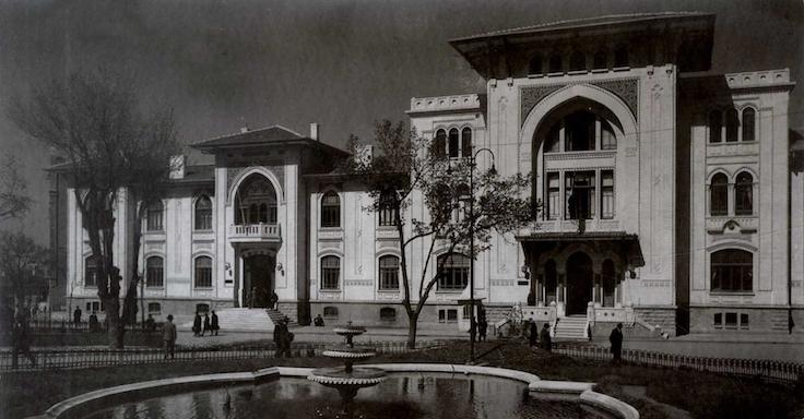 Fotoğraf: İlk Dışişleri Bakanlığı Binası, Mimar Arif Hikmet Koyunoğlu, 1927.
