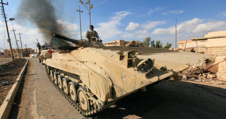 Ordu birlikleri Musul'un dış mahallelerine ulaştı. (Fotoğraf: Reuters)