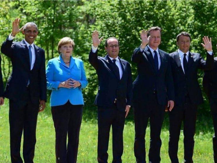 2016 ile birlikte veda edenler: Obama, Hollande, Cameron ve Renzi. Merkel baki...