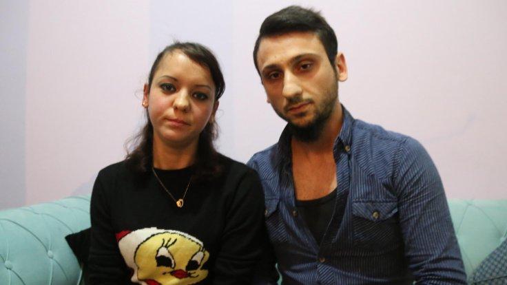 Olesya Kalyujina ve eşi Vahit Duran
