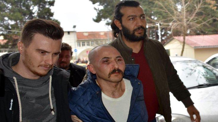 Sol bacağından vurulan Şerif Turunç İstanbul'a getirildi.