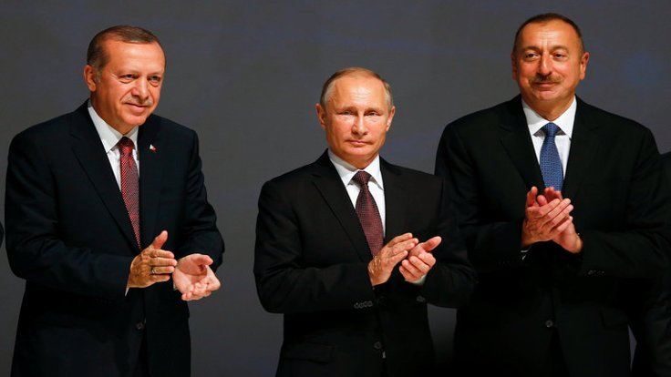 Ərdoğan Putin İlham Əliyev ile ilgili görsel sonucu