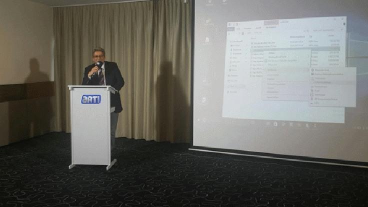 Açılış konuşmasını Artı TV Genel Yayın Yönetmeni Celal Başlangıç yaptı.