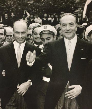 Fuad Chéhab (sağda), Lübnan Cumhurbaşkanı 1958-1964