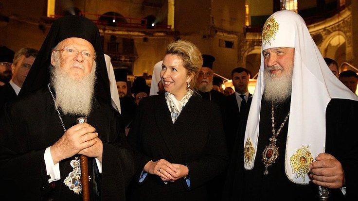 Rus Ortodoks Kilisesinden Fener Rum Patrikhanesine ret