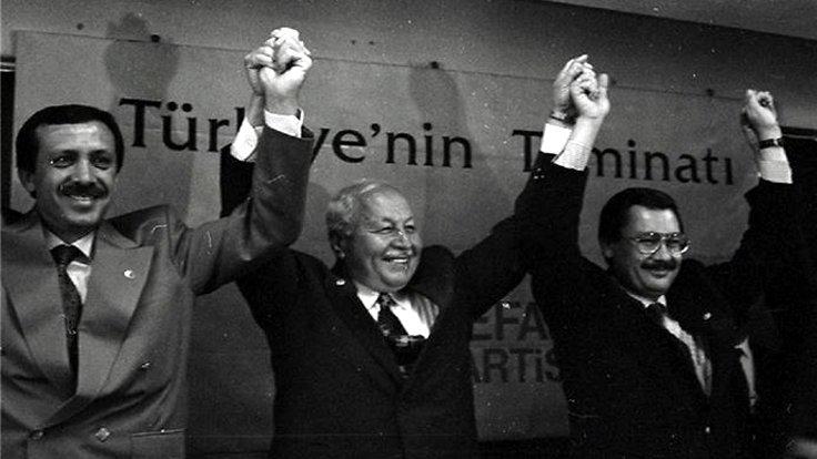 Recep Tayyip Erdoğan, Necmettin Erbakan, İ. Melih Gökçek