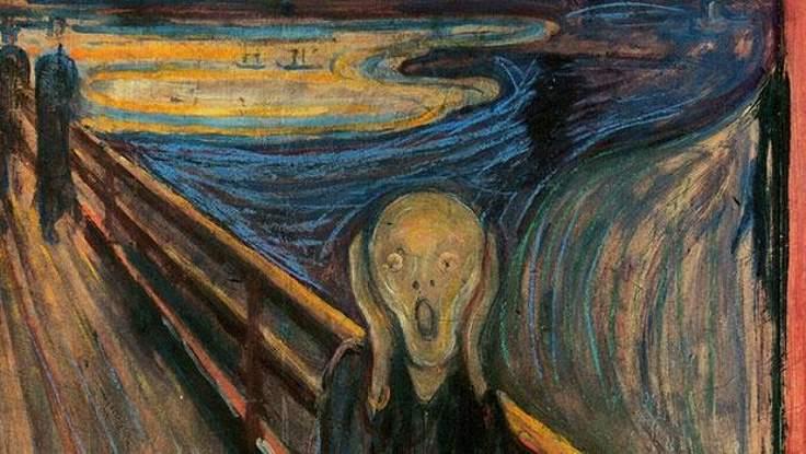 E. Munch, Çığlık, 1895.
