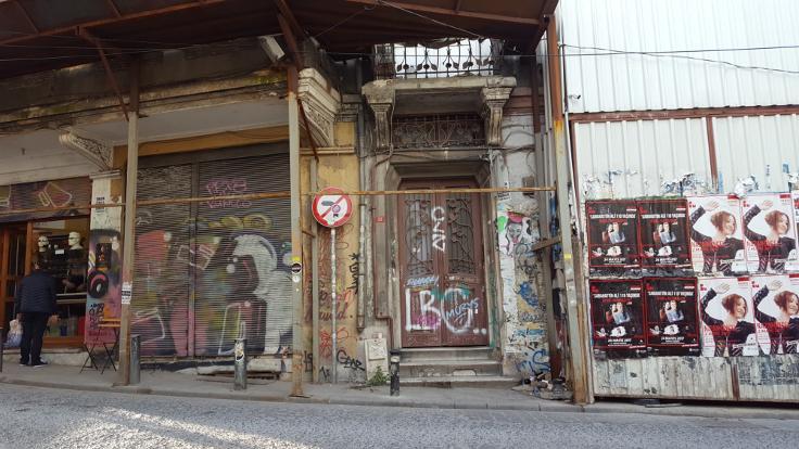 Turnacıbaşı Caddesi, Galatasaray Hamamı'nın karşısı