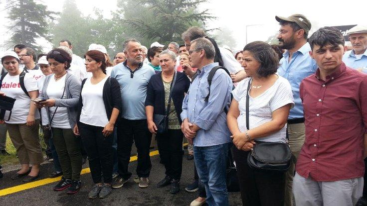 Gezi Parkı eylemleri sırasında katledilenlerin aileleri de yürüyüşe katıldı.