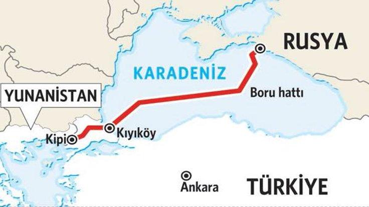 Türk Akımı Projesi'nin güzergahı