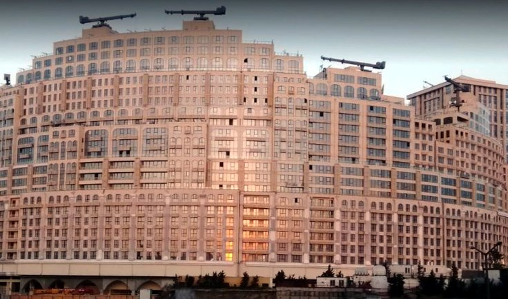 İstanbul'dan bir toplu konut projesi.