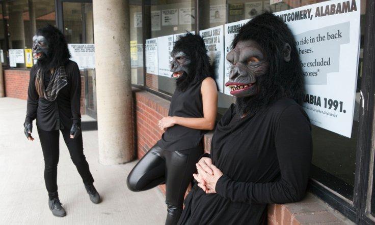 Guerrilla Girls (Fotoğraf: Andrew Hindraker)