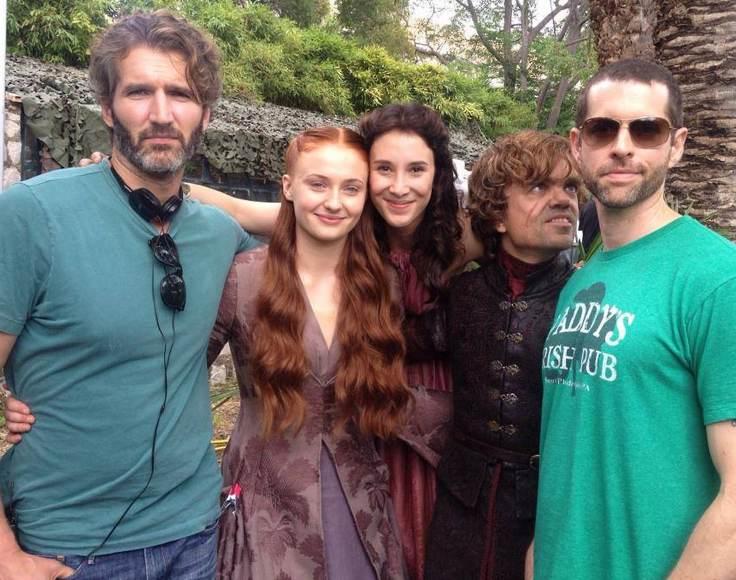 Sibel Kekilli, rol aldığı Game of Thrones dizisinin setinde