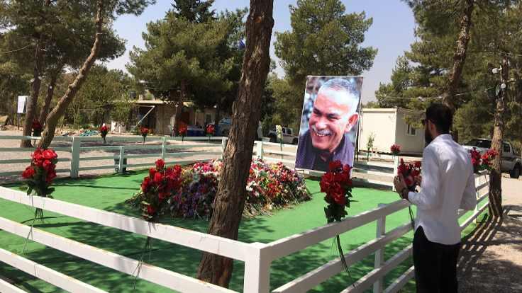 Newşêrwan Mustafa'nın mezarı