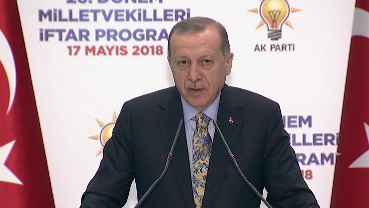 Erdoğan 26 ncı dönem TBMM ikinci kurucu meclistir