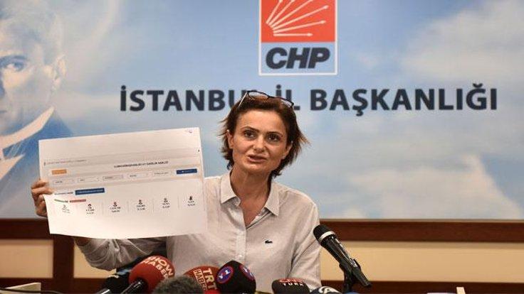 Kaftancıoğlu: Tutanak bilgileri YSK ile örtüşüyor