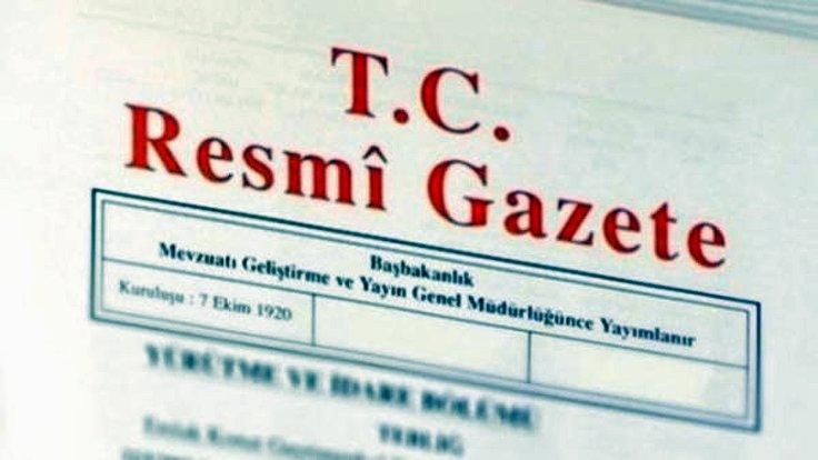 Erdoğan'ın yeni atama kararları
