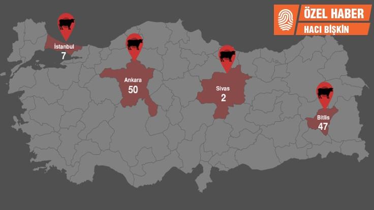 Türkiyenin şarbon Haritası Hacı Bişkin