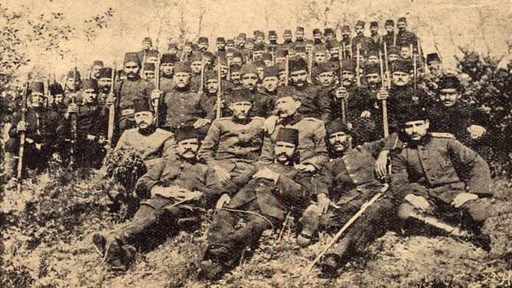 Osmanlı ordusunun esir düşen Ermeni askerleri