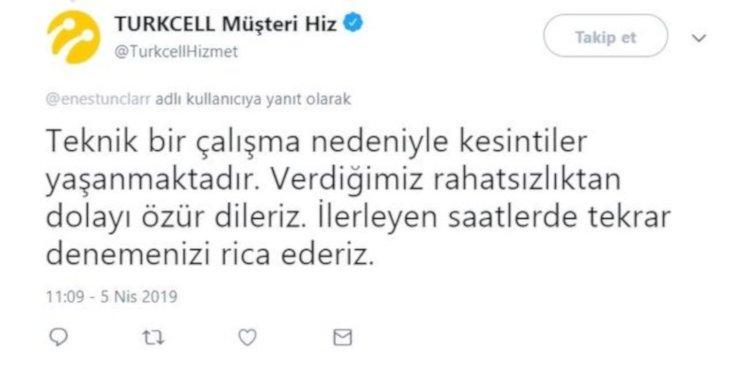 Turkcell Ve Superonlineda Internet Gitti