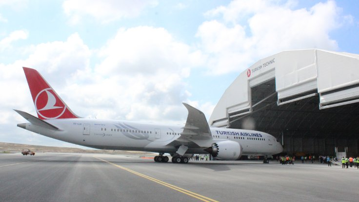 366aa834f THY'nin 'rüya uçağı' İstanbul'a geldi
