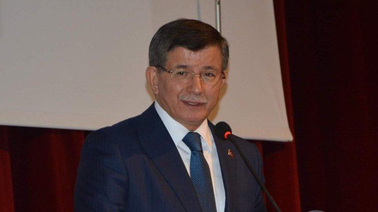 Ahmet Davutoğlu çalışma ofisinde basın toplantısı yapacak