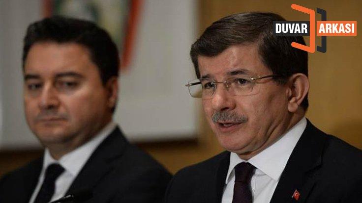 Duvar Arkası… Babacan ve Davutoğlu partilerinde 'deşifre' koruması
