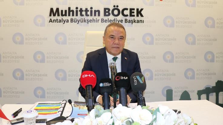 Muhittin Böcek: Erdoğan Antalya'yla ilgili taleplerimize sıcak baktı