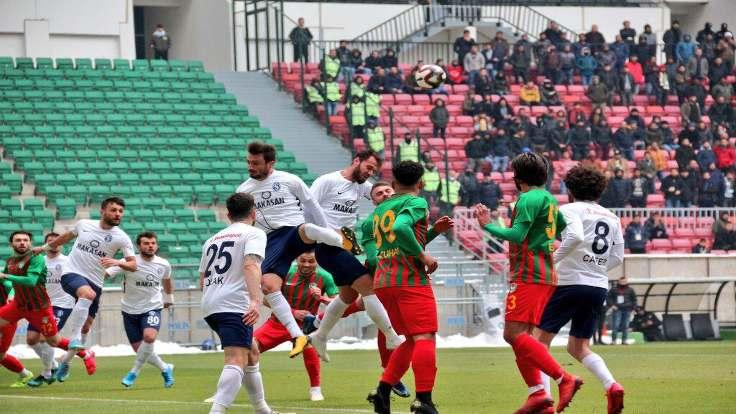 Amedspor ilk kez geriye düştüğü maçı kazandı